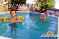 Витязево Анапа отдых с бассейном